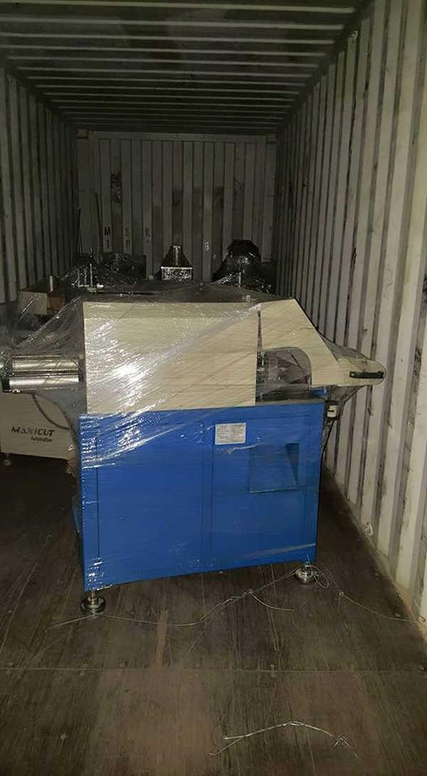 Dịch vụ nhập khẩu máy sx cửa nhôm-nhựa nguyên container của Mison Trans