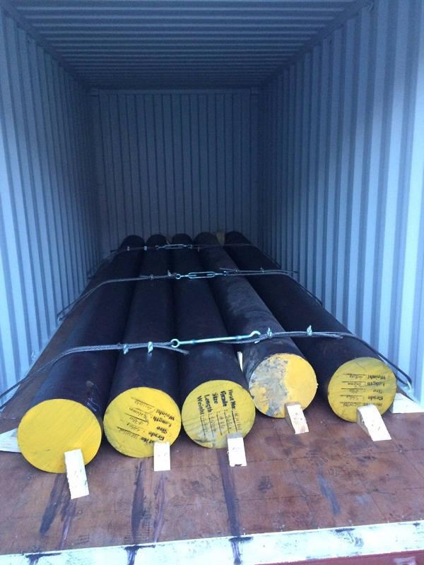 Dịch vụ nhập khẩu thép tròn nguyên container của Mison Trans