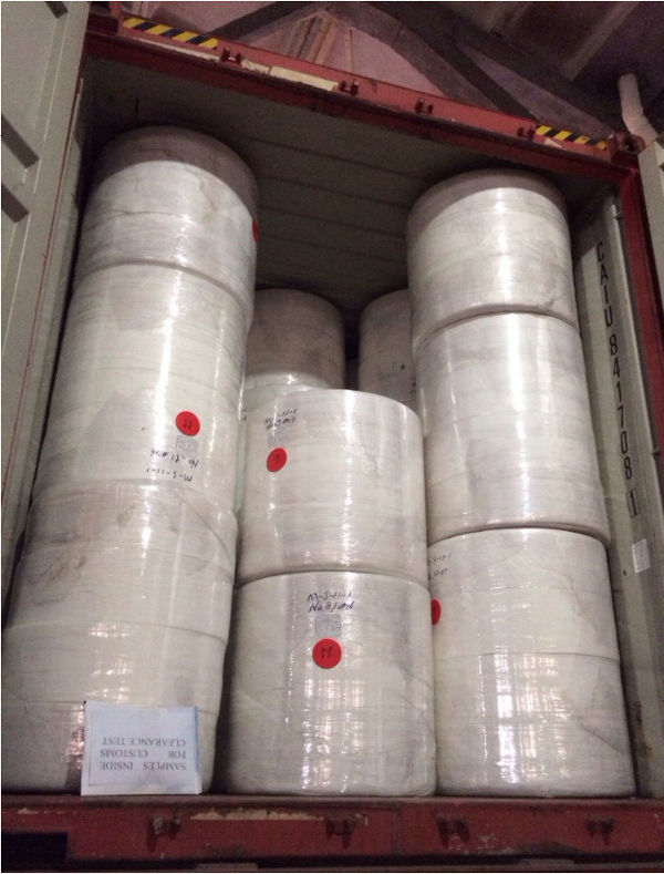 Dịch vụ nhập khẩu nguyên container hàng vải không dệt của Mison Trans