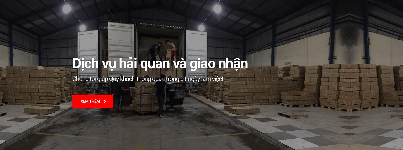 Dịch vụ hải quan xuất nhập khẩu Mison Trans