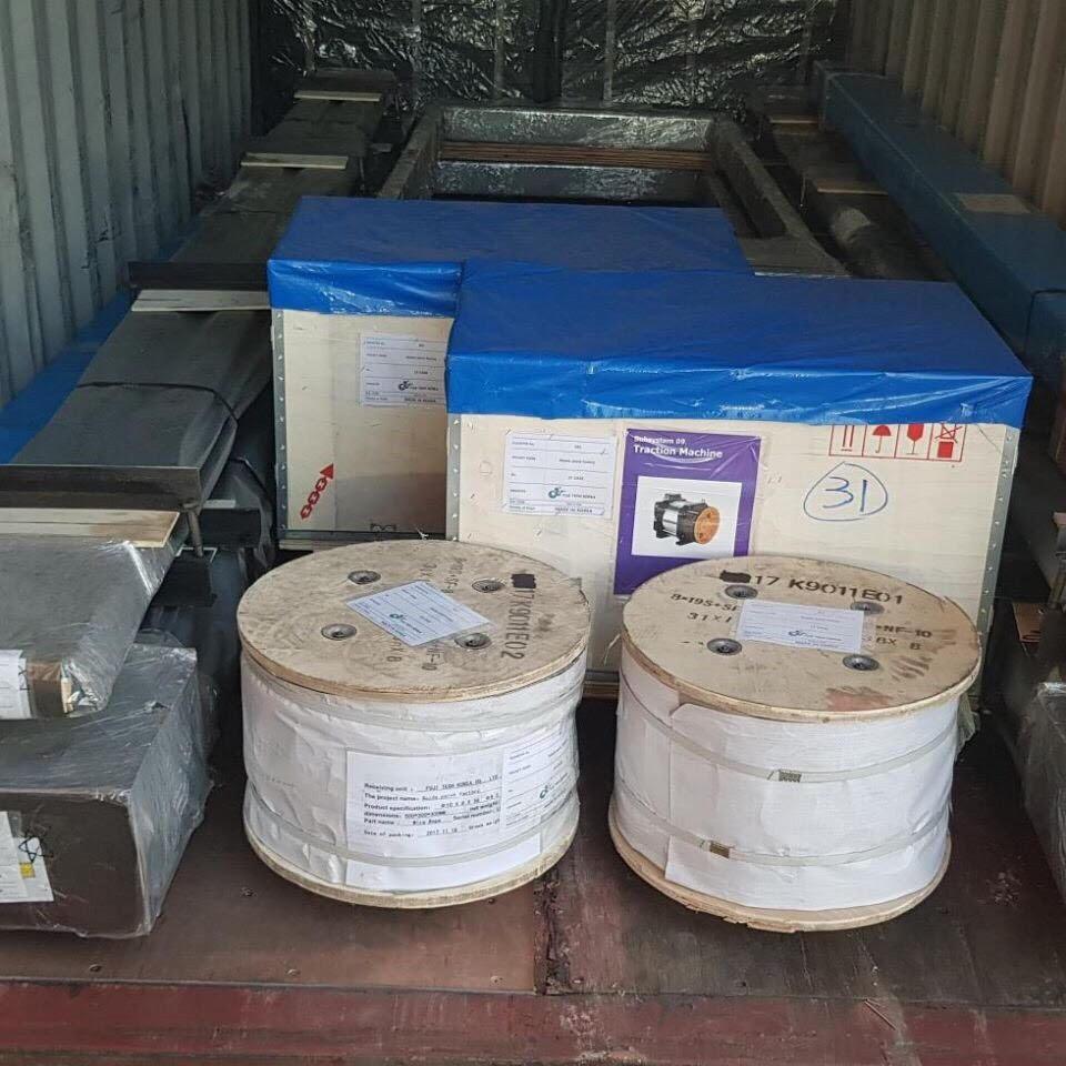 Dịch vụ nhập khẩu thang máy - Mison Trans