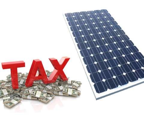 Thuế nhập khẩu pin năng lượng mặt trời