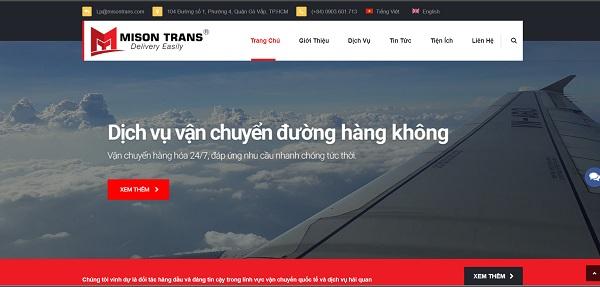 MISON TRANS - Đơn vị uy tín, chuyên cung cấp dịch vụ logistics cho hàng hóa