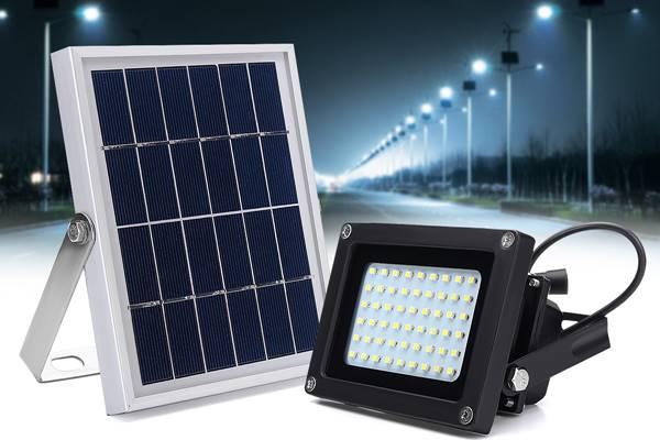 Nhập khẩu đèn LED năng lượng mặt trời